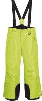 Зимние лыжные салатовые штаны CRIVIT р.146/152см