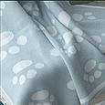 Плед 90x90 BETIRES BEAR BLUE (100% хлопок), фото 4