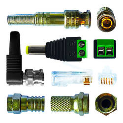 Разъемы, штекеры, коннекторы, переходники, вилки, розетки