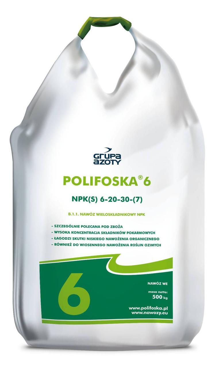 Комплексне добриво Поліфоска, Polifiska  6 NPK (S) 6-20-30- (7)
