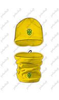 Набор Шапка+Горловик(Бафф) Бразилия