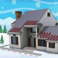 Монтаж систем снеготаяния и антиобледенения