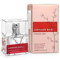 Женская туалетная вода   Armand  Basi Sensual Red   100 мл .