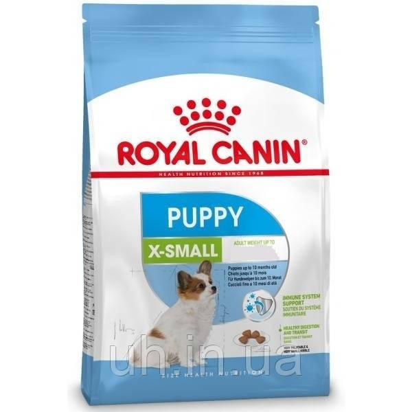 Royal Canin X-Small Puppy сухой корм для щенков до 10 месяцев 0,5КГ