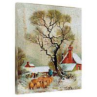"""Картина на холсте """"Пастух"""" 40х50см"""