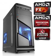 Игровой Компьютер AMD 4x3.8GHz 8Gb 500Gb HDD 4Gb Radeon RX 560 500W Системный блок, ПК, системник