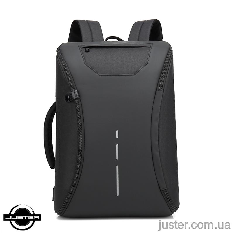 """Крутой городской рюкзак для ноутбука 15"""" с портом usb и защитой от краж (J12091)"""
