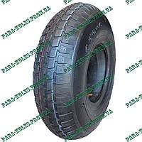 """Покрышка (шина) для тачки 4.00-6 """"Deli Tire"""" в комплекте с камерой"""