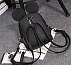 Рюкзак сумка Mikki женский кожзам с ушками Розовый, фото 4