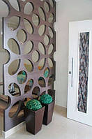 Декоративная перегородка для стен или разделения пространства помещений (дуб), толщина 20мм, Киев