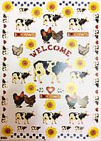 Карта декупажная Корови від Анни Зада 50*70см 100г/м2 Finmark  AZ053