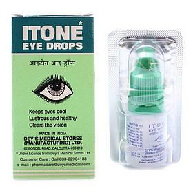 Аюрведические глазные капли Айтон Itone Eye Drops с экстрактами растений