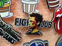 Дерев'яний значок Fight Club