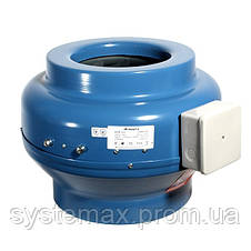 ВЕНТС ВКМ 100 (VENTS VKM 100) - круглый канальный центробежный вентилятор , фото 3