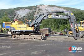 Гусеничный экскаватор Volvo EC360СL (2008 г), фото 2