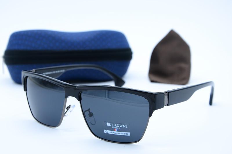 Солнцезащитные очки мужские Клабер Ted Browne 1006 blk-a