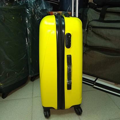 9638ee5a096a Чемодан Средний Пластиковый на 4 колеса Wings Жолтый  продажа, цена ...