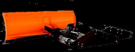 Отвал(Лопата) Снегоуборочная ВУМ-2,5 на МТЗ-82 гидро, фото 2