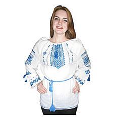 Вышиванка женская Авторская вышиванка 64 Белый (50012) КОД: 666131