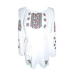 Вышиванка женская Авторская вышиванка 40 Белый (4982) КОД: 666238