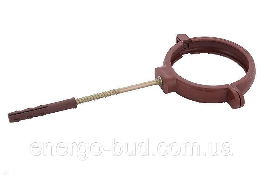 Держак труби Profil пласт. L100 130 коричневий