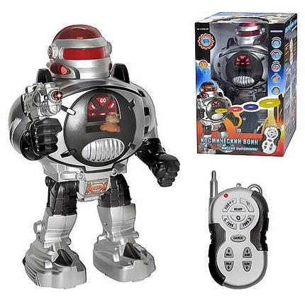 """Отличная игрушка-робот """"Космический воин"""" на радиоуправлении, подарки для мальчиков, лучшие детские товары, фото 2"""