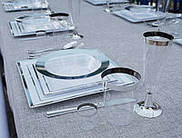 """Тарелки одноразовые стеклопластик CFP 6 шт/уп банкет фуршет и праздничный стол """"Селебрити"""" 300 мл"""