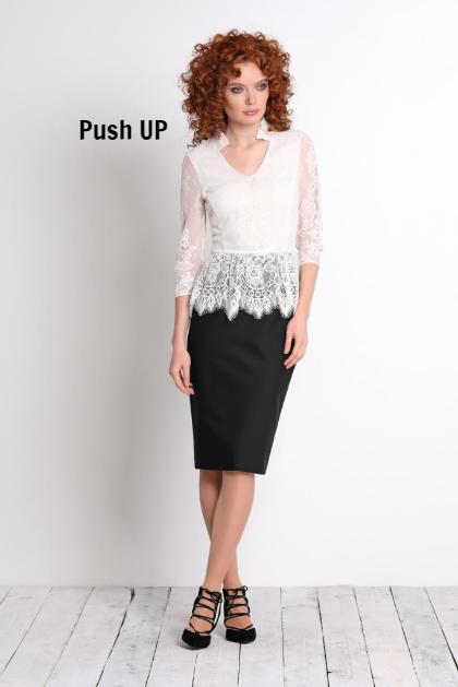 Белая блуза Noche Mio женская SHRIKE 6.505