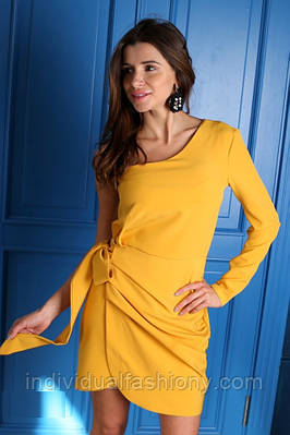 Платье мини на одно плече «Тиара»