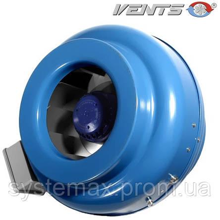 ВЕНТС ВКМ 125Б (VENTS VKM 125B)  - круглые канальный центробежный вентилятор , фото 2
