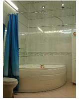 Дуговой алюминиевый карниз 150*150 см белый