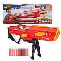 Детское оружие детский бластер Нерф Мега Тандерхок Комбат Nerf Mega Thunderhawk Combat Blaster E0403