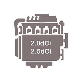 Двигатель 2.0 dCi + 2.5 dCi (M9R 780, G9U 630 )