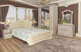 Спальня НОВА ВЕНЕЦІЯ 4Д піно беж (Світ Меблів)