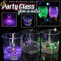 "Светящийся стакан - ""Party Glass"" - 1 шт., фото 1"