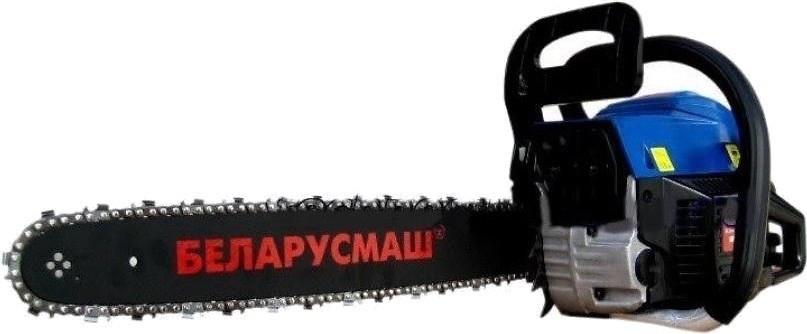 Бензопила Беларусмаш 6700 2 шини, 2 ланцюги + фільтр пп метал праймер