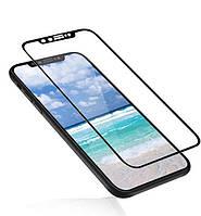 "iPhone X (5.8"") / XS (5.8"")  Гибкое защитное стекло Caisles 5D (на весь экран) для Apple iPhone X (5.8"") / XS (5.8"") Черное                   на"
