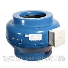 ВЕНТС ВКМ 200 (VENTS VKM 200)  - круглый канальный центробежный вентилятор , фото 3