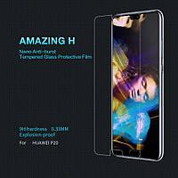 Huawei P20  Защитное стекло Nillkin Anti-Explosion Glass (H) для Huawei P20 Прозрачный                   на Хуавей