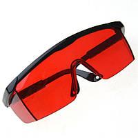 Очки защитные от УФ-излучения для работы с фотополимерной лампой