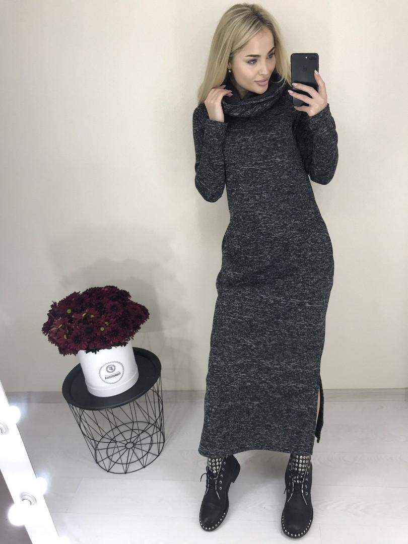 Платье тёплое на флисе