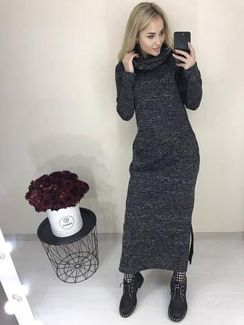 Платье тёплое на флисе , фото 2