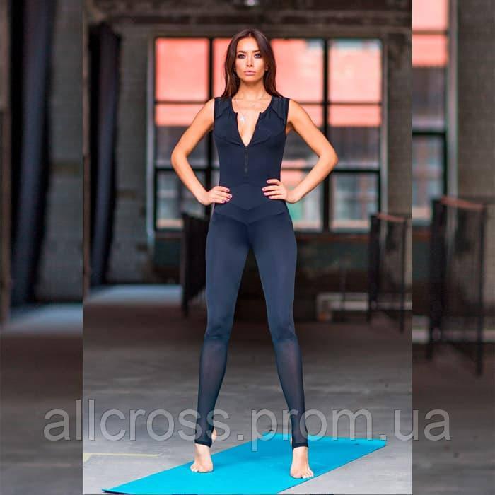 Спортивный комбинезон Yoga Total Black