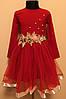 Детское нарядное платье для девочки 4-6 лет