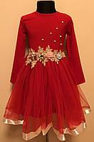 Детское нарядное платье для девочки 4-6 лет, фото 1
