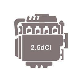 Двигун 2.5 dCi (G9U 630, G9U 730)