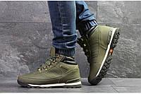 Ботинки Timberland 6832 темно зеленые
