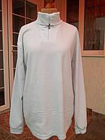 (54/56р) Флисовый свитер кофта джемпер гольф мужской