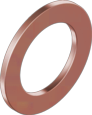 Кольцо уплотнительное медное DIN 7603 шайба 10/16 1мм