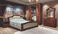 Спальня ВЕНЕЦИЯ НОВА 4Д пино орех (Свит Меблив)